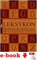 LEKSYKON PRAWNO-BUDOWLANY ebook BHP W BUDOWNICTWIE OD A DO Z - plik PDF
