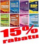 Pakiet 8 książek Z Prawem co dnia – 15proc. RABATU + ebook BIP gratis - taniej o 52 zł