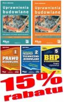 PAKIET Uprawnienia budowlane 2021 r. – 5 książek – 15 proc. RABATU, + ebook BIP gratis - taniej o 73 zł