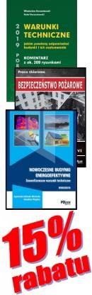 PAKIET WARUNKI TECHNICZNE 2019 - 3 książki - 15% rabatu