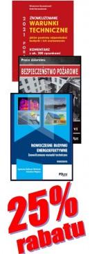 PAKIET WARUNKI TECHNICZNE 2021 - 3 książki - 1 książka gratis, taniej o 99 zł