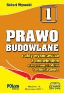 PRAWO BUDOWLANE 2019 wyd. 14 + Suplement na dzień 1 grudnia 2019 r.