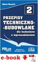 Przepisy techniczno-budowlane dla budynków z wprowadzeniem 2017 - plik PDF